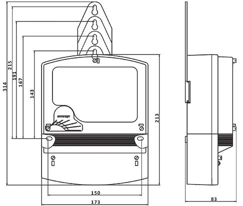 Электросчетчик схема