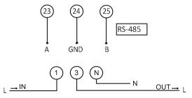 схема электросчётчика ЛЕ