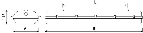/></p> <p></p> <p><strong>Конструкция</strong></p> <p></p> <p>Корпус SMC - полиэстер, усиленный стекловолокном.</p> <p></p> <p><strong>Установка</strong></p> <p></p> <p>Крепление светильника непосредственно на поверхность потолка или стен без использования монтажных пластин. Для установки светильника на подвесы нужно заказывать специальные крепления.</p> <p></p> <p><strong>Оптическая часть</strong></p> <p></p> <p>Рассеиватель из SAN крепится к корпусу защелками из полиамида. Под заказ возможна комплектация защелками из нержавеющей стали.</p>    </div>   </div><!-- END description--> <div class=