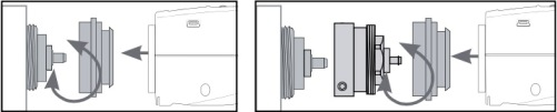 Схема монтажа термоголовки ATV-1