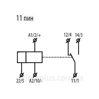 схема подключения реле PRM-91H-11/UNI