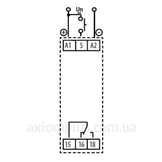 CRM-91H/UNI реле времени схема подключения