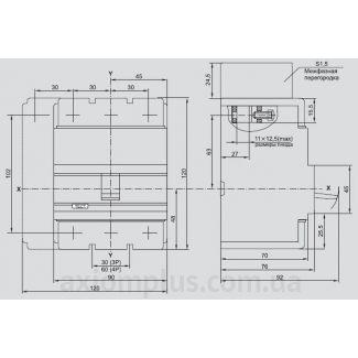 автоматический выключатель ВА88-33 IEK