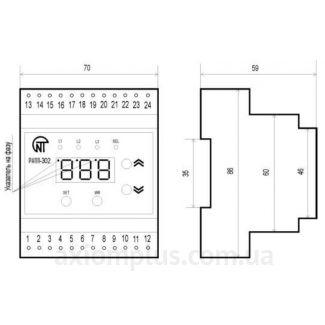 Конструкция реле контроля фаз РНПП-302