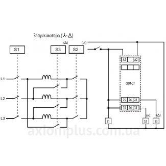 схема подключения реле CRM-2T/230V