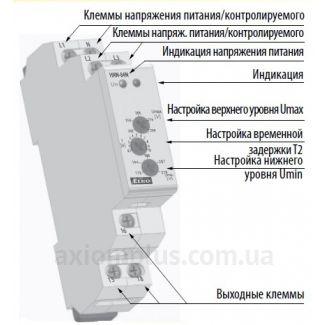 реле контроля фаз HRN-54N