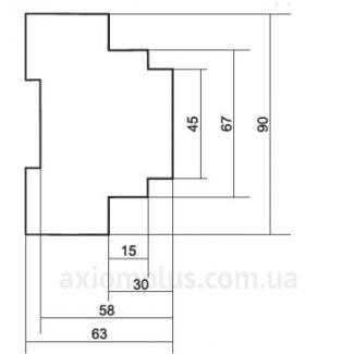 габариты BIS-413