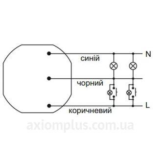 Схема подключения реле ASO-205 (РЧ-605)