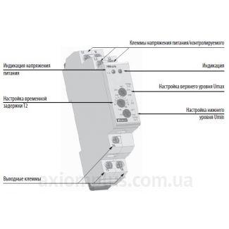 устройство реле контроля напряжения HRN-57N