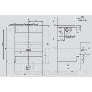 автоматический выключатель ВА88-32 IEK