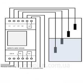 схема реле ADC-0310-32 ADECS