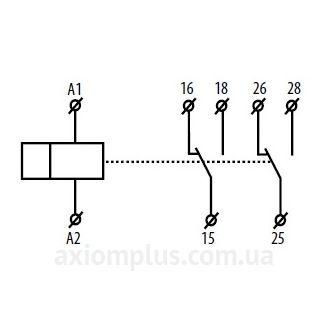 схема реле времени CRM-82TO