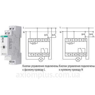 схема реле BIS-413 EC/F&F