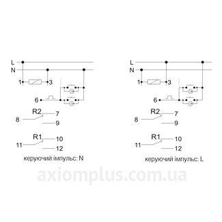 Схема подключения РБ-414, EC/F&F