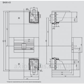 автоматический выключатель ВА88-43 электронный IEK