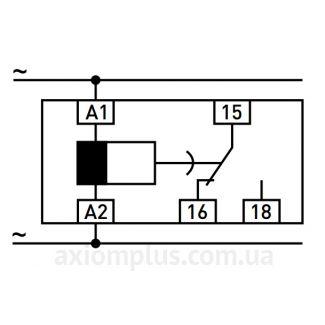 схема подключения реле e.control.t07