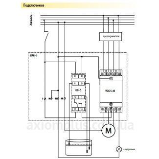 реле уровня жидкости HRH-4/24V схема подключения