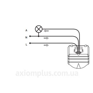 схема включения e.sensor.pir.38.white