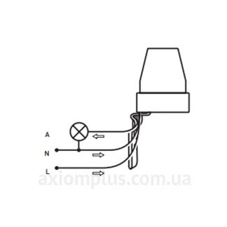 Схема подключения e.sensor. light-conrol.302