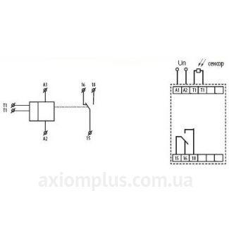 Схема подключения сумеречного SOU-2/230V