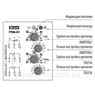 устройство реле времени PRM-2H/UNI