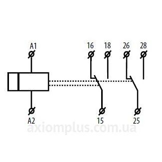 схема подключения реле SJR-2/230V