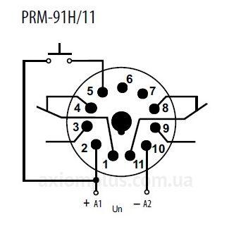 схема реле PRM-92H/UNI