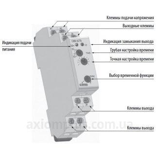 устройство реле времени CRM-82TO