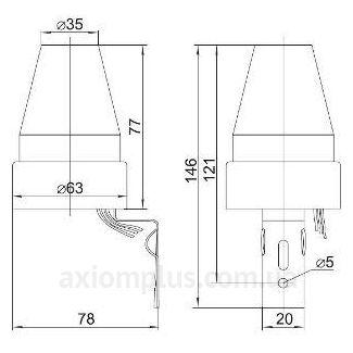 Схема фотореле ФР 601