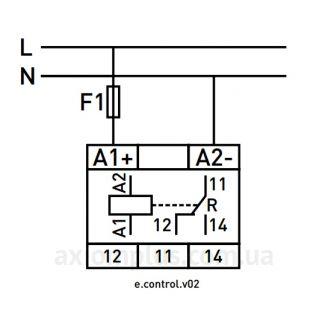 Схема подключения e.control.v02: