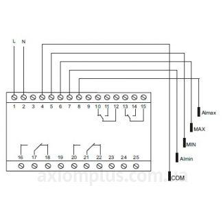 реле ДР-832Р схема подключения