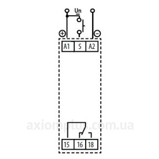 схема подключения реле времени CRM-91HE