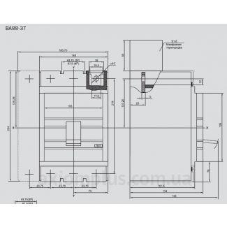 автоматический выключатель ВА88-37 IEK