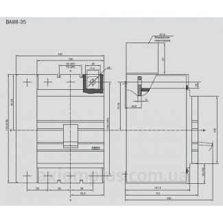 Автоматический выключатель ВА88-35 IEK