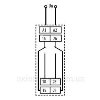 схема подключения реле времени CRM-82TO
