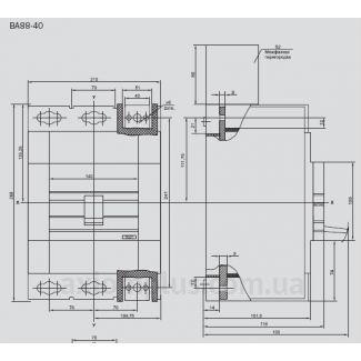 автоматический выключатель ВА88-40 IEK