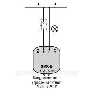 схема подключения реле времени SMR-B/230V