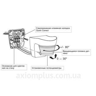 Схема датчика EE831