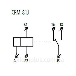 схема подключения реле CRM-81J/230V