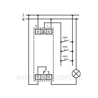 схема подключения реле MR-41/UNI