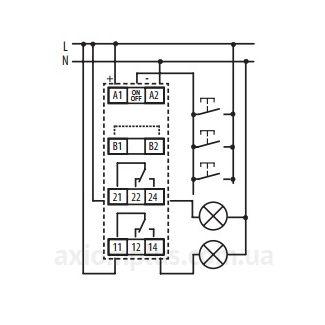 Схема реле MR-42