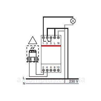 схема подключения реле ABB TW2/10K