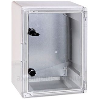 Фото серый монтажный бокс E.Next e.plbox tr размер 400х300х195мм