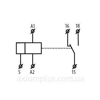 CRM-2H/230V реле схема подключения