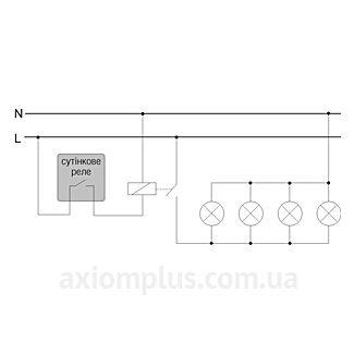 Схема подключения реле АСВ-30 (AWZ 30)