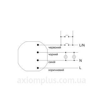 Схема подключения реле EC/F&F РБ-403