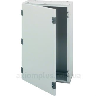 Фото серый монтажный шкаф Hager ORION Plus FL126A габариты 950х600х300мм