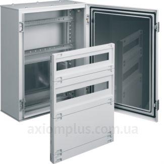Фото серый монтажный шкаф Hager ORION Plus FL160A размер 500х300х200мм