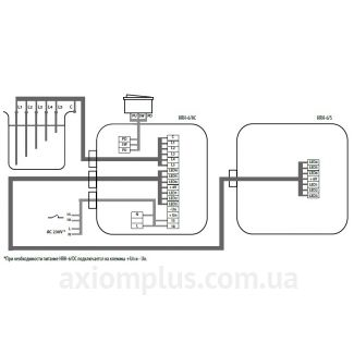 реле HRH-6/230V схема подключения