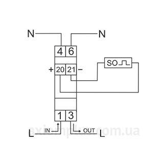 Схема подключения LЕ-01D